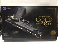 Tokyo Marui No.1 Hi Capa 5.1 Gold Match Gas Blow Back Air Soft Gun From Japan