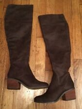 Report Footwear Fisher Womens Riding Boot Over The Knee OTK Brown Size 6
