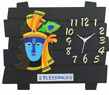 New Designer Wall Clock / Watch 13x11 INCHES, Gifts for Home and Office