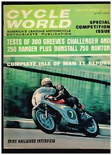 CYCLE WORLD SEPTEMBER 1967 SEE CONTENTS IN SECOND PHOTO