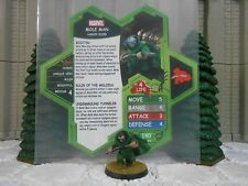 Heroscape Custom Mole Man Double Sided Card & Figure w/ Sleeve Marvel