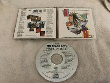 BEACH BOYS MADE IN THE USA ORIGINAL CAPITOL CD MADE IN UK RARE OOP