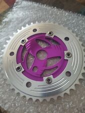 Mongoose Pro Class 44 T Chain ring N.O.S. RARE PURPLE