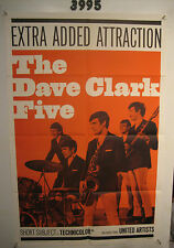 Dave Clark Five Orig, 1sh Movie Poster '65 rock & roll