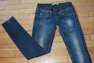SALSA LIFE Jeans pour Femme W 26 - L 32 Taille Fr 36 (Réf #O199)