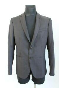 Zara Man BNWT 99 Classic Black One Button Blazer Men Jacket Size 50 EU L