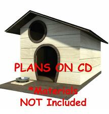 "30"" x 36"" Dog House Plans - Saltbox Roof - Pet Size To 60 lbs - Small Dog - 07"