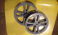 Two 16mm  400ft Grey  Reel  7 Inches Grey Tayloreel Plastic  Brand New!!!