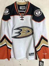 Reebok Women's Premier NHL Jersey Anaheim Ducks Team White sz S