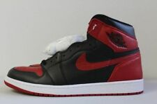 Nike Air Jordan 1 Retro High OG Banned Size 17 Bred Black Red White 555088-001