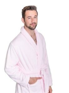 Mens Plush Spa robe with Shawl Collar, 2 pockets, and we can monogram!