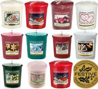 8 x Yankee Candle Votives / Samplers -8 Different Scented Votive  TRACKED POST