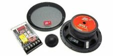 """1 B2 Audio ISX 6.1 Component Set 200W Max 6.5"""" Coaxial Speakers 4 Ohm Crossover"""