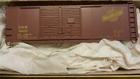 Accurail HO Chicago North Western Double Door 40'  Boxcar Kit, NIB