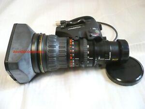 "Demo Fujinon ZA17x7.6BZD-T58C 2/3"" B4 HD zoom lens for Sony PDW/HDC/HDW"