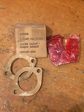 WC Dodge G502 G505 G507 M37 G741 Army Truck Water Outlet Elbow Gaskets