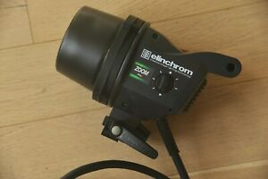 Elinchrom Zoom Pro Head, Studio Flash Lighting