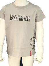 Bear Boys Logo Tshirt Metal 3-4 Years
