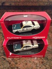 Peter Brock 1 43 Holden HT MONARO Gts350 #43d #44d Pair Bathurst Winner AUTOart