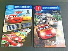 Disney Pixar Cars Step Into Reading Books Track Stars Edition (new)