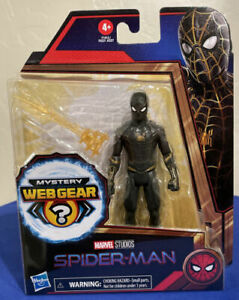 Spider-Man No Way Home Black and Gold Spider-Man action figure - NEW