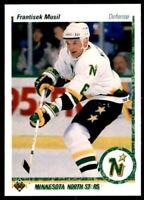 1990-91 UPPER DECK FRANTISEK MUSIL #383 Dallas Stars Hockey Card! NM-M Defence