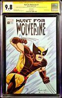 MARVEL Comics WOLVERINE #1 CGC SS 9.8 Original Sketch LOGAN X-23 X-MEN DEADPOOL