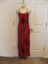 NEW NEWPORT NEWS BURGUNDY  FULLY LINED  PARTY FORMAL OCASSION GOWN SIZE 6