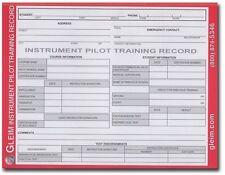 Gleim Instrument Pilot Student Flight Training Record Book