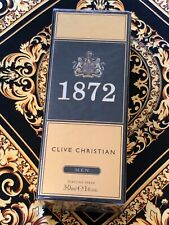Genuine Clive Christian 1872 Men 1oz 30ml Brand NEW Sealed Extremely RARE