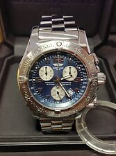 Breitling Emergency Mission A73322 Blue Dial - B&P 2007 - Serviced by Breitling!