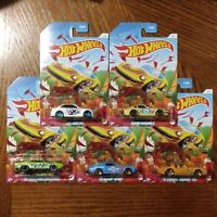 Spring Series Complete Set of 5 - Hot Wheels Basic (2021)