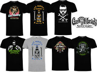 Gas Monkey Garage T-Shirt Official GMG Logo Graphic Printed Casual Top Tee