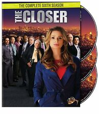 The Closer Sixth Complete Season 6 Six DVD Series TV Show Drama Video Episode R1