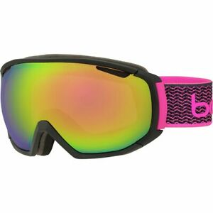 Bolle Tsar Goggles Matte Black And Neon Pink/Rose Gold One Size