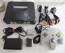 Auflösung N64 Nintendo 64 Konsole mit Controller voll funktionsfähig Klassiker