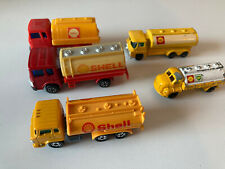 Modellautos Set Shell Tankwagen Budgy Tomica Jimson Husky