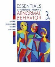 Essentials of Understanding Abnormal Behavior (US 3/E; ISBN-13: 9781305639997)