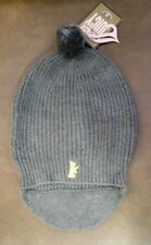 NWT New JUICY COUTURE Scottie Dog Knit Beanie Hat Gray OS
