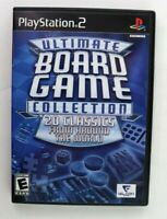 PS2 Ultimate Board Game Collection (Sony PlayStation 2, 2006) No Manual Tested