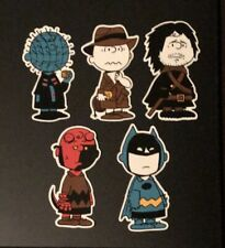 Peanuts Charlie Brown Cosplay Raid71 Limited Ed Character Sticker Set Batman