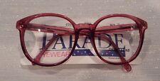 Vintage Parade Eyewear #1012 Wine 56/21 P3 Eyeglass Frame NOS