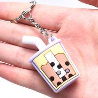PVC Soft Tea Cup Cute Pendant Key ring Key chain Car Bag Key Souvenir Gi kl