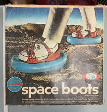 Star Team Space Boots By Ideal 1969 w/ Original Box