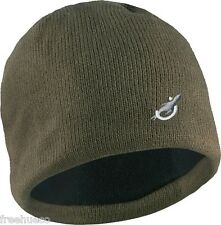 SEALSKINZ Waterproof Beanie Hat Cold Weather -Olive Green -Unisex Large/XL