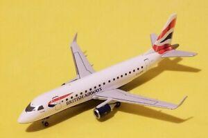 Herpa Models 1:400 British Airways Cityflyer ERJ-170 G-LCYF Rare