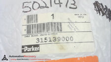 PARKER 315139000, BLEED VALVE-BUTTON,, NEW #267914