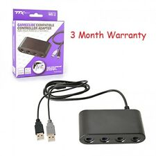 4 Port GC Controller Adapter For Switch/Wii/Wii U/Gamecube SMASH BROS