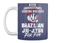 Brazilian Jiu Jitsu And - Never Underestimate Someone Who Does Gift Coffee Mug