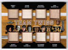 17/18 2017 LEAF STICKWORK BOSTON BRUINS TEAM TWIGS 15 ORR CHEEVERS OATES BOURQUE